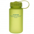 UZSPACE High-Quality Leak-Proof Frosted Colorful Bottle with Filter Cover - Green (350mL)