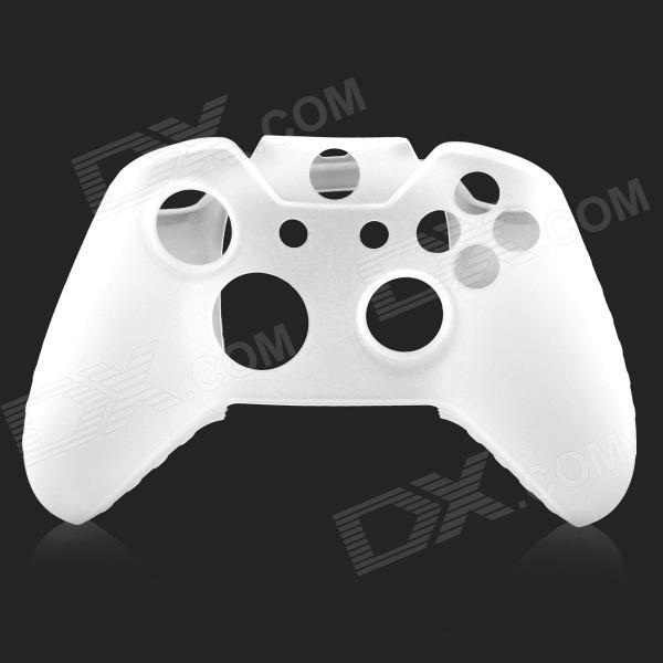 Protective Silicone Case for XBOX One Controller - White protective silicone cover case for xbox 360 controller yellow blue