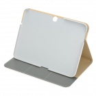 Protective 	PU+PC Flip Open Case w/ Card Slots / Stand for Samsung Galaxy 3 10.1P5200 - White