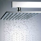 12 inch Stylish Brass Square Showerhead - Silver