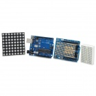 DIY Dot Matrix Module (Works with Official Arduino UNO R3) - Black + Blue