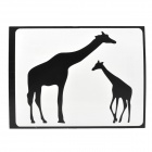 "Creative Giraffe Pattern Sticker for MacBook 11"" / 13"" / 15"" / 17"" - Black"