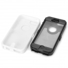 Robot Style Protective Plastic + Silicone Back Case for Iphone 5C - Black + White