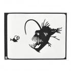 "Creative Lantern Fish Pattern Sticker for MacBook 11"" / 13"" / 15"" / 17"" - Black"
