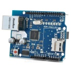Funduino Ethernet Extension Board w/ Micro SD Port - Blue + Black