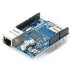 Funduino Ethernet Extension Placa w / Micro SD Port - azul + preto