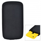 Protective Neoprene Pouch Case for Iphone 5C - Black
