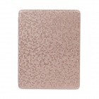 Honeycomb Texture Protective PU Leather Case Cover Stand for Ipad 2 / 3 / 4 - Rose Gold