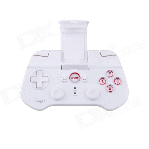 IPEGA PG-9017S Wireless Bluetooth 3.0V Controller for Ipad / Iphone / Smartphone + More - White ipega pg 9021 classic bluetooth v3 0 gamepad for iphone ipod ipad more black