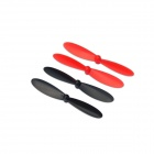 Hubsan  H107-A35 Rotor BR for H107C R/C Quadcopter - Red+Black (4PCS)