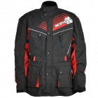 SCOYCO JK35 Windproof Warm Motorcycle Cycling Oxford Jacket - Black + Red (XXL)
