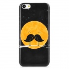 Bird Pattern Protective Plastic Back Case for Iphone 5C - Black + Yellow + White