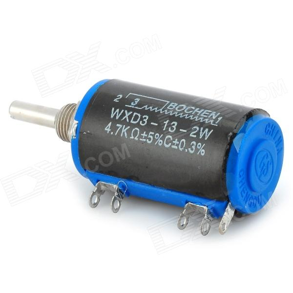 WXD3-13-2W Precise Linear Potentiometer (Works w/ Official Arduino Board) - Black + Blue + Silver