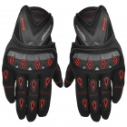 SCOYCO MC10 Off-road Vehicle Nylon + Taslan + Comtex Cycling Gloves - Black + Red (Pair / M)
