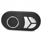Mini Car Bluetooth V4.0 Hands-free Hi-Fi Speaker w/ Mini USB for Cellphones - Black + Silver
