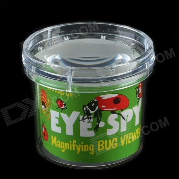 Insects Observation Magnifier Box Toy for Children - Transparent