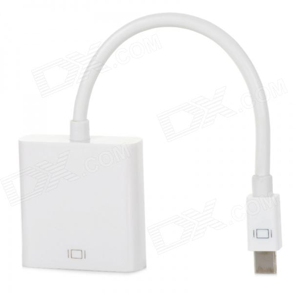 XIANGZHI Y-S1 Mini DisplayPort Female to VGA Female Cable - White (20cm)