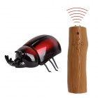 YI ZHAN Simulation 2-CH R/C Beetle Toy  - Red + Black