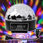 XL-10 Voice Remote Control Crystal Ball Disco DJ Stage Light - Black