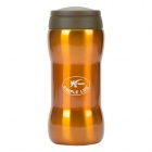 GY GY-09 Style High Vacuum Stainless Steel Thermos Cup Warm / Cold Insulation Bottle - Ochre (350mL)
