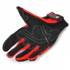 SCOYCO mc09 Cross-country Racing Car Full Finger Gloves - Red + Black (Size L)