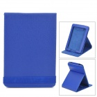 Protective PU Leather Case Cover Stand for Amazon Kindle Paperwhite - Deep Blue