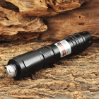 YX-016 5mW 532nm Starry Night Green Laser Pointer Flashlight - Black (1 x 16340)