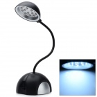 15-LED USB or 3*AAA Powered Desktop White Light Lamp (Black 103CM Cable Length)