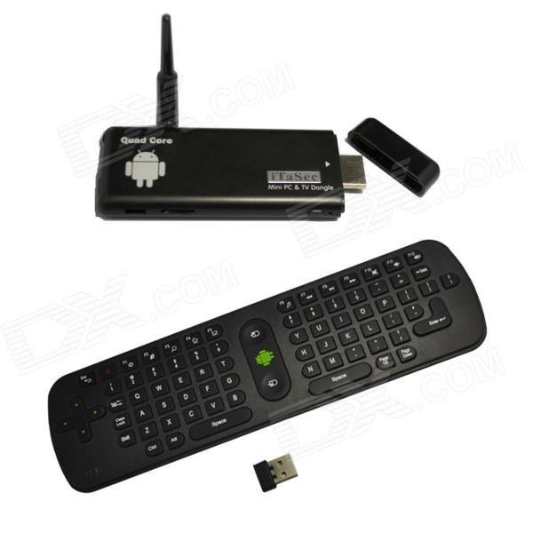 iTaSee IT801 Quad-Core Android 4.2.2 Google TV Player w/ 2GB RAM, 8GB ROM + RC11 Air Mouse (EU Plug)