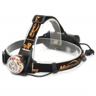 MAGICSHINE MJ-886 500lm 3-Mode SSC sz5powooo Z5 3-LED White Light Head Lamp - Black + Silver