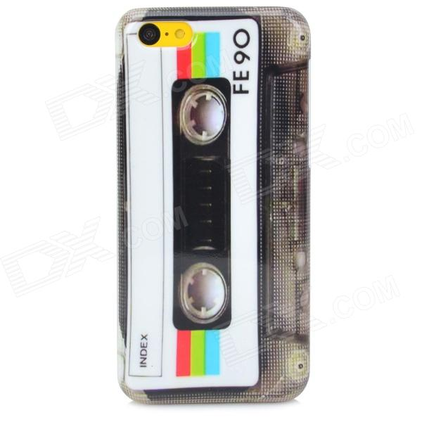 Retro CD Tape Pattern Protective PC Back Case for Iphone 5C - Multicolor cd диск barbra streisand back to brooklyn 1 cd