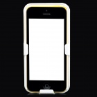 Protective Plastic Back Case w/ Belt Clip for Iphone 5C - White