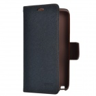 Mercury Protective PU Leather Case Cover Stand w/ Auto Sleep for Samsung Galaxy Note 3 N9000 - Black