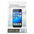 High Clear Mirror Front Screen + Back Skin Protector Guard Film for Iphone 5S - Transparent
