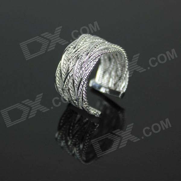 Vines Style 925 Silver Ring - Silver