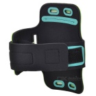 "Universal EVA Sports Gym Armband for 4.5~5.0"" Cell Phone - Green + Black"