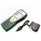 DY DY881 Portable Carbon Monoxide Gas Detector - Green + Deep Grey