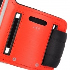 "Universal EVA Sports Gym Armband for 4.5~5.0"" Cell Phone - Red + Black"