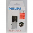 Philips AE1530 Portable AM/FM Radio 2X AA Battery Operated