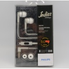 Philips SHE7055 Citiscape Indies Headphones Earphones with MIC for Iphone Samsung HTC LG