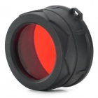 NITECORE NFR34 34mm Red Lens Optical Filter - Black + Red