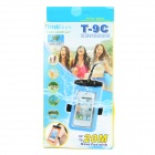 Tteoobl T-9C PVC Waterproof Bag for Iphone 4 / 4S / 5s - Black