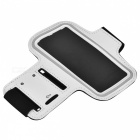 "Universal EVA Sports Gym Armband for 4.5~5.0"" Cell Phone - White + Black"