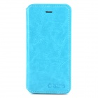 AZNS Protective PU Leather Case w/ Stand for Iphone 5 - Blue