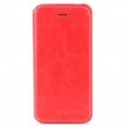 AZNS Protective PU Leather Case w/ Stand for Iphone 5 - White