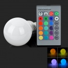 LED3Wb-RGB E27 3W 150LM 3-LED RGB света Украшение лампы - белый (85 ~ 265В)