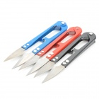 Handy Stainless Steel Thrum Scissors - Blue + Red + Black (3 PCS)