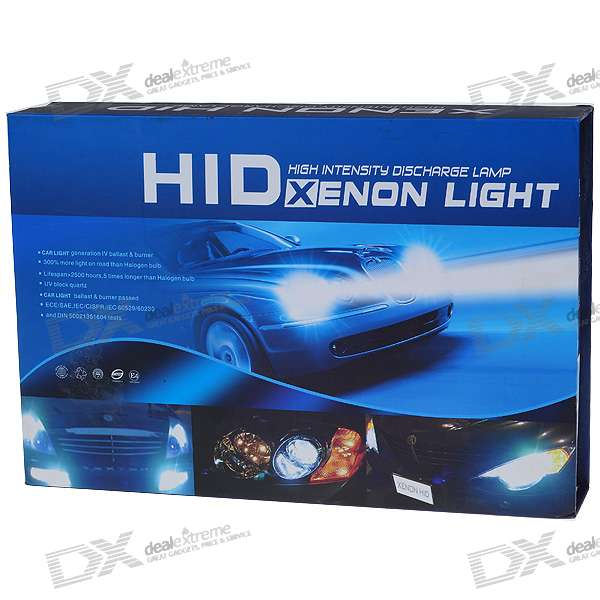 EckoMax Vehicle HID Headlamp Complete Set (H1 6000K) ecar e4035 can bus universal replacement 35w hid ballast dc 9 16v