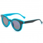 CARSHIRO 3088 UV400 Protection Resin Lens Sunglasses - Black + Blue