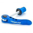 Yongruih B-75 Mountain Bike Quick Release Scewer Lever - Blue